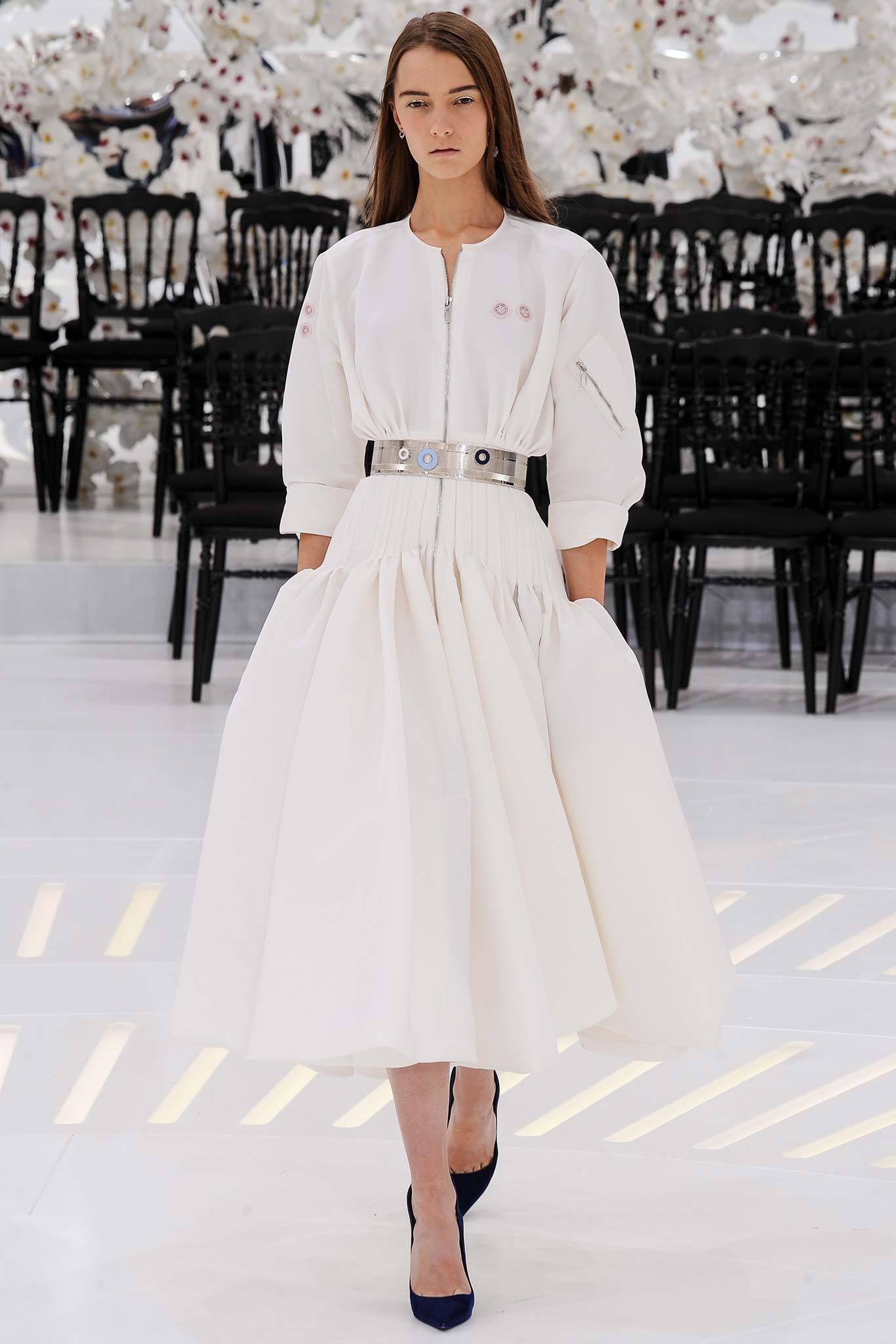 Dior Haute Couture Fall Winter 2014 15 Evelina Khromtchenko