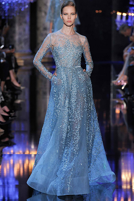 Elie saab haute couture fall winter 2014 2015 evelina for 2015 haute couture