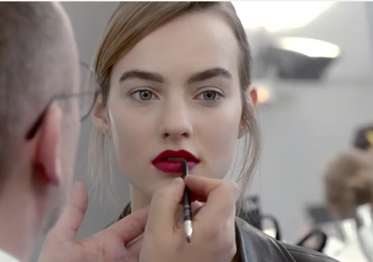 """Creative Director of Dior Make-up Peter Philips describes how to do the makeup from the Dior runway season spring-summer 2016: """"In order to achieve the ..."""