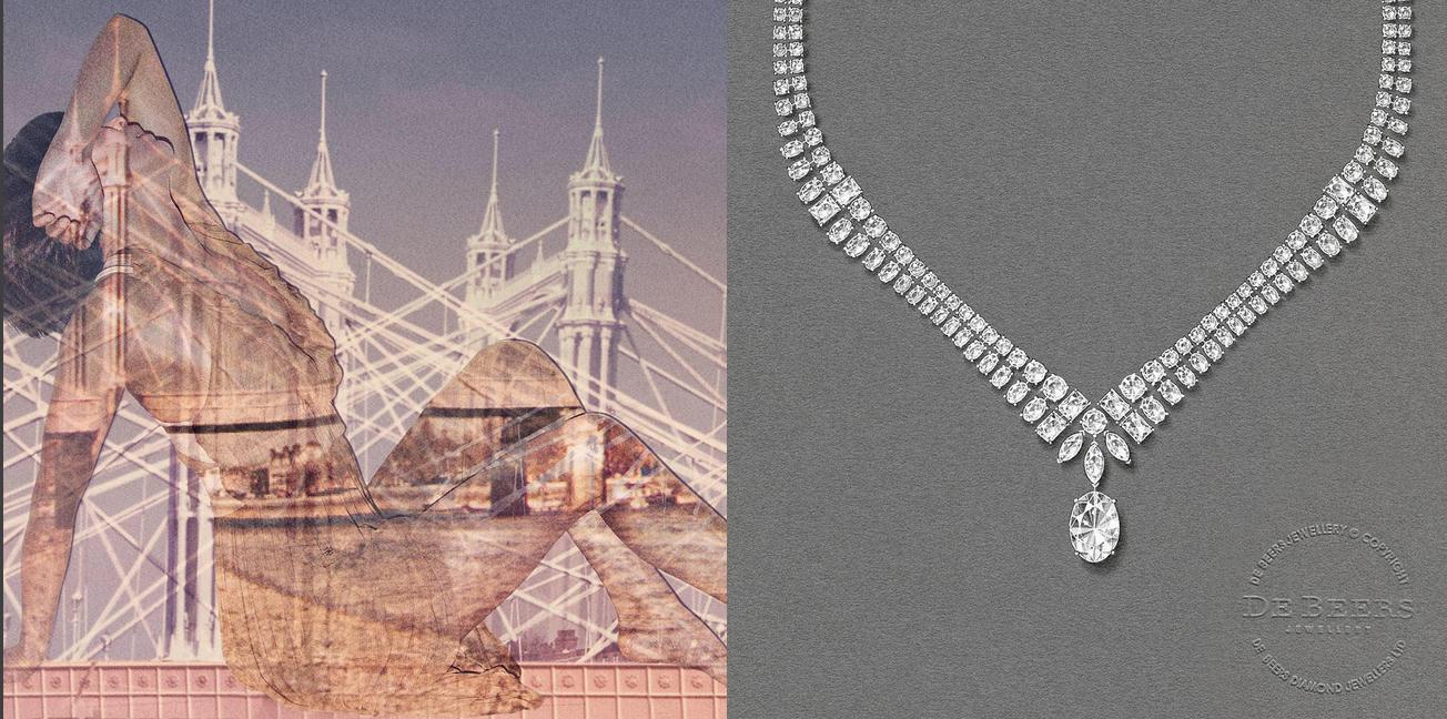 Necklace London De Beers High Jewelry Photo Instagram Com Debeersofficial