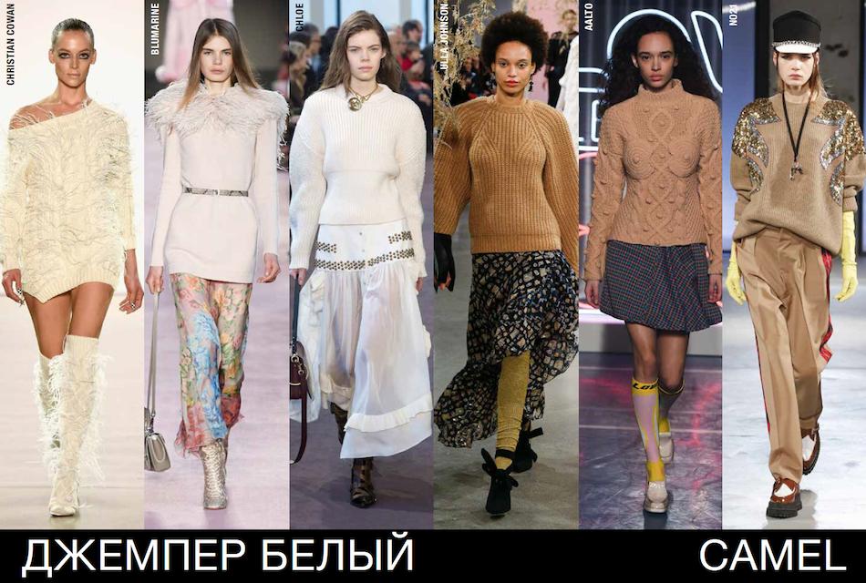 Fall Winter 2018 2019 Trends Jumpers Evelina Khromtchenkoevelina